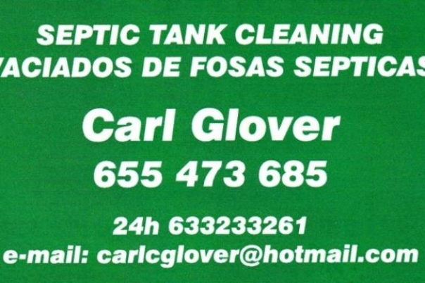 Carl Glover - Septic Tank Cleaning & Pools