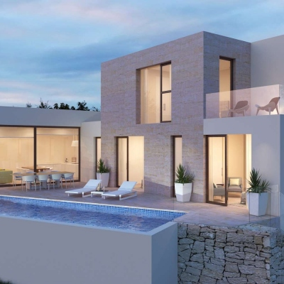 3 bed new construction in Benissa