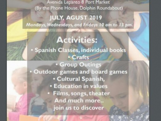 "Bi-Lingual Summer School from Academy ""Palabracadabra"" in Javea during July & August"