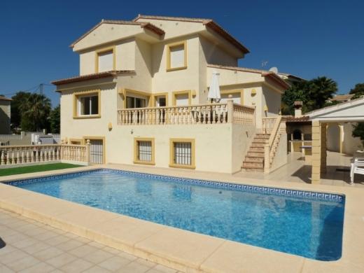 8 bed villa in Calpe