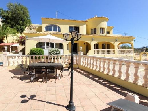 8 bed villa in Benissa