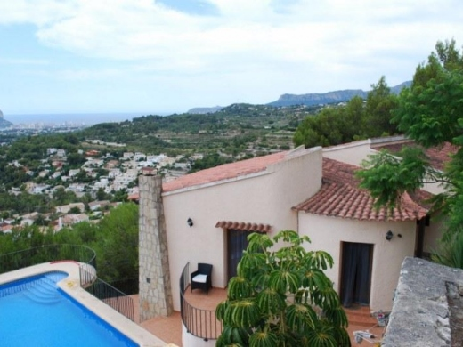 6 bed villa in Benissa