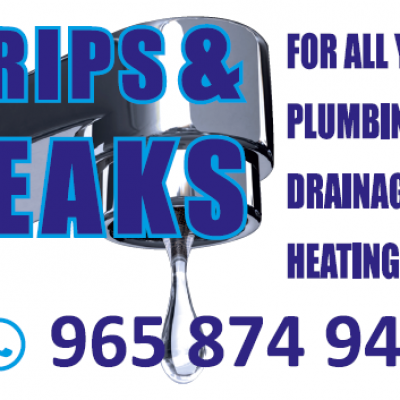 Drips and Leaks - Plumbers Calpe - Javea - Moraira