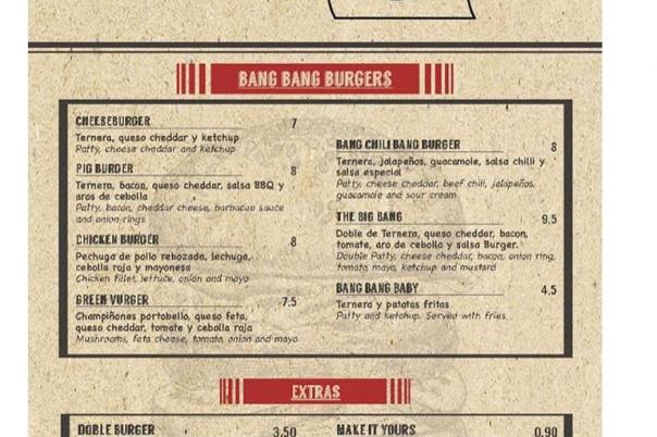 Bang Bang Restaurant - American Style Dining & Burgers
