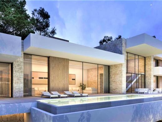 5 bed new build villa in Moraira