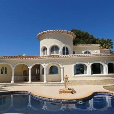 4 bed villa de lujo in Benissa