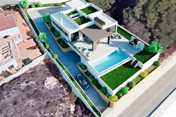 3 bed villa in Moraira