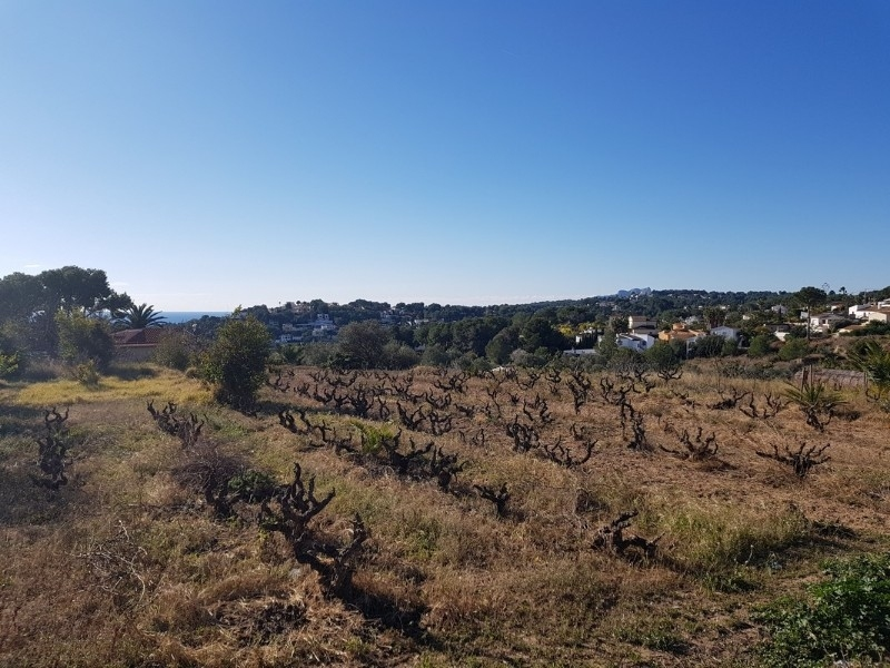 land for building in Moraira