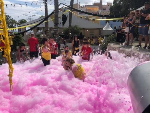 Foam Party at J-Park Moraira