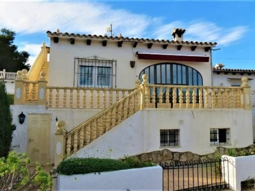 4 bed casa adosada in Moraira