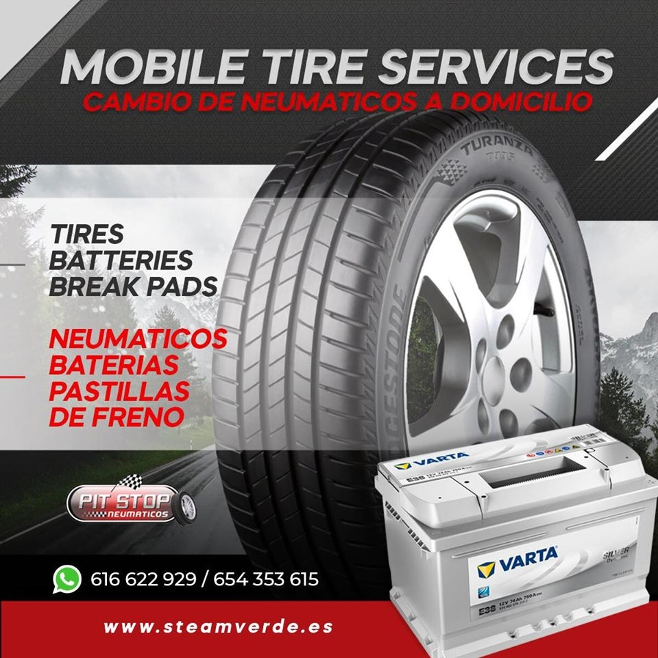 Steam Verde - Tyres Costa Blanca