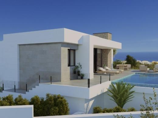 3 bed new build villa in Cumbre Del Sol