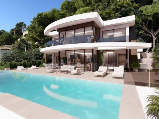 4 bed villa de lujo in Moraira