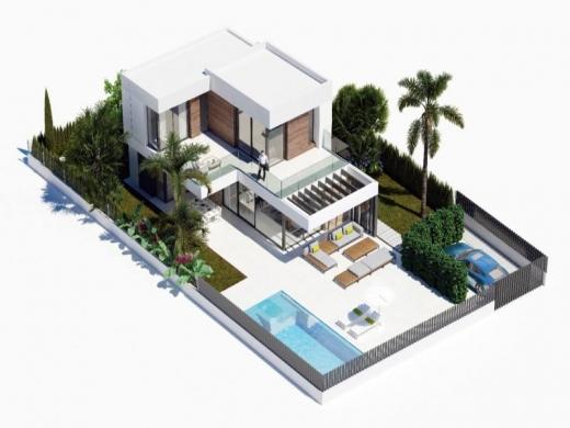 3 bed villas in Benidorm
