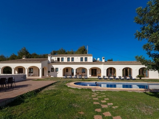 7 bed country house in Benissa Costa