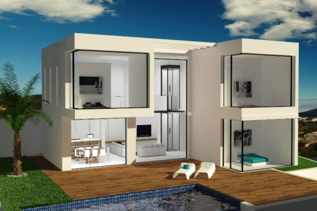 4 bed villas in Benissa