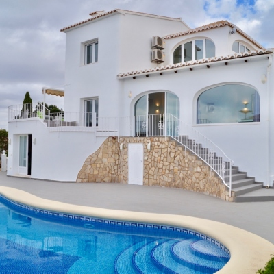 5 bed villas in Benitachell