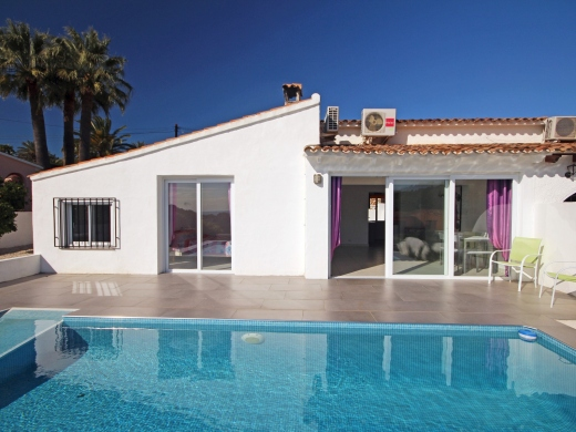 3 bed  linked villa in Moraira