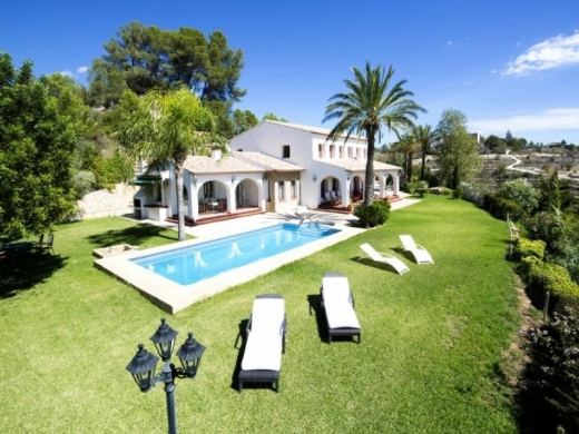 6 bed country house in Benissa Costa