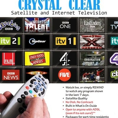 Crystal Clear - Satellite TV & Internet TV Costa Blanca