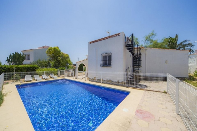 3 bed villa in Calpe