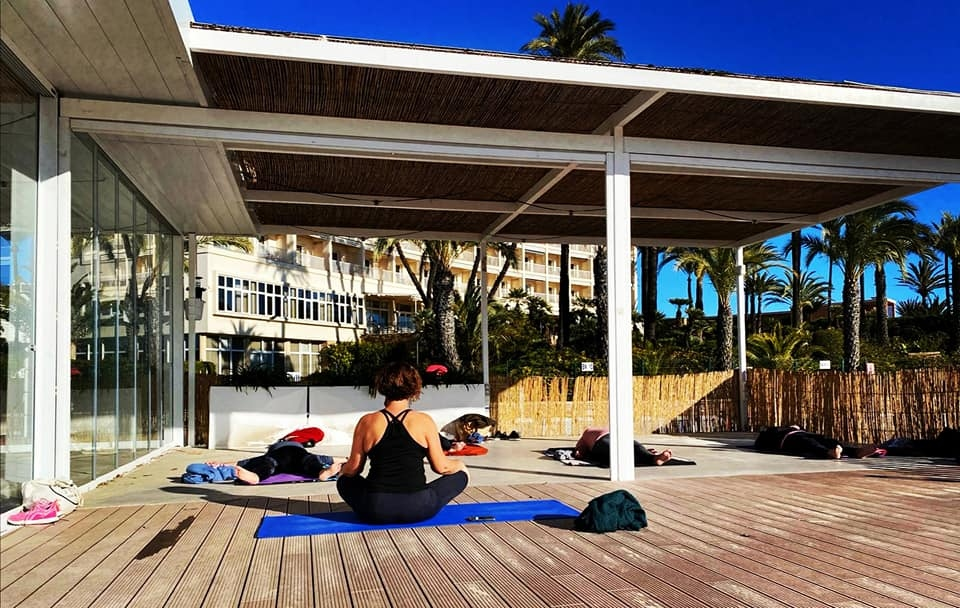 Yoga Classes in Javea with Kate Moss
