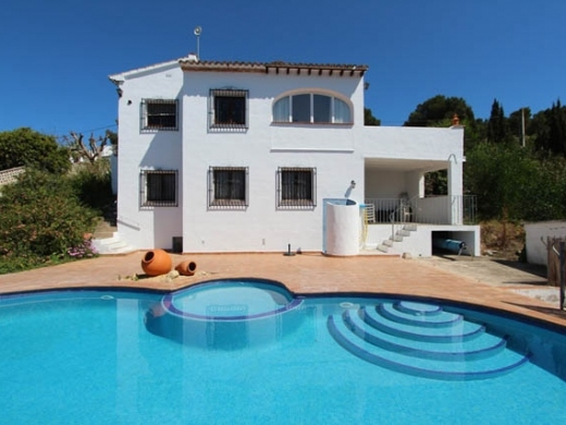 3 bed villas / chalets in Moraira