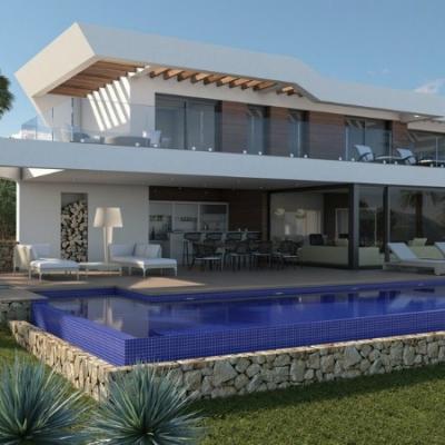 5 bed  new build villas in Moraira