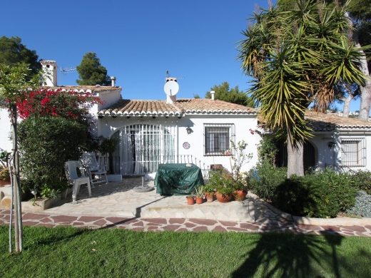 4 bed bungalow in Moraira
