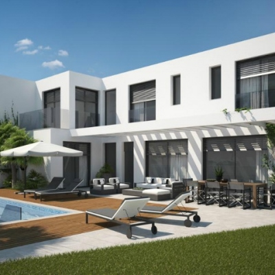 4 bed  new build villas in Moraira