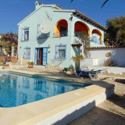 3 bed villas & fincas in Benitachell inc Cumbre del Sol