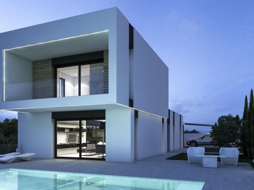 4 bed villa in Benissa-Costa