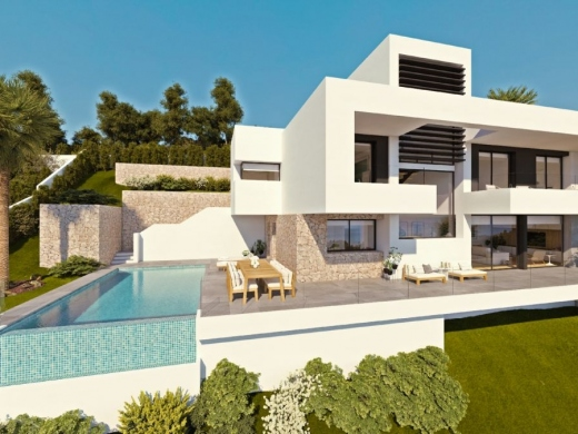 3 bed new build villa in Altea