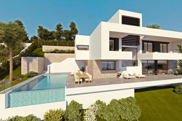 3 bed new build villa in Altea