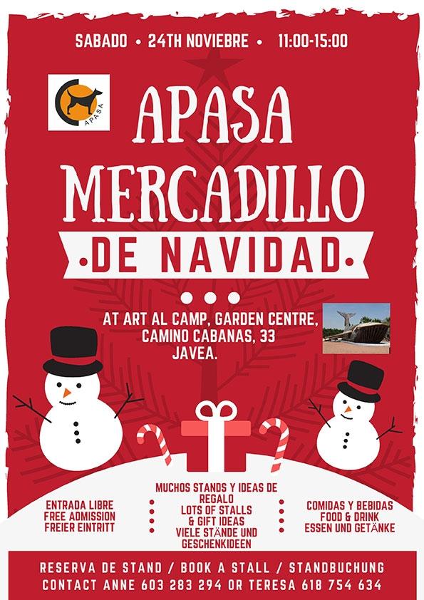 Charity Events: APASA Christmas Jumble Sale
