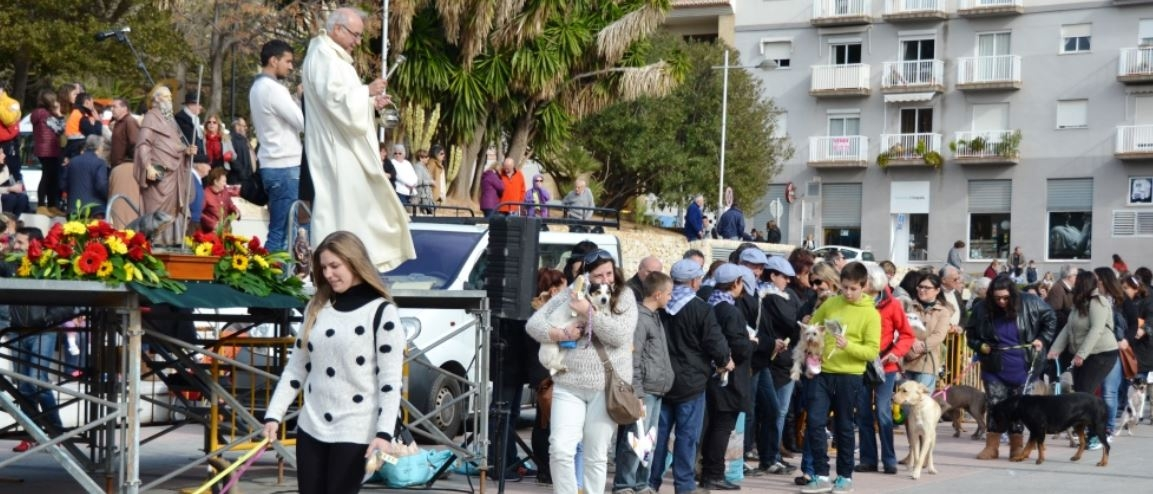 "Fiestas in Javea: ""San Antonio"" (January 2020)"