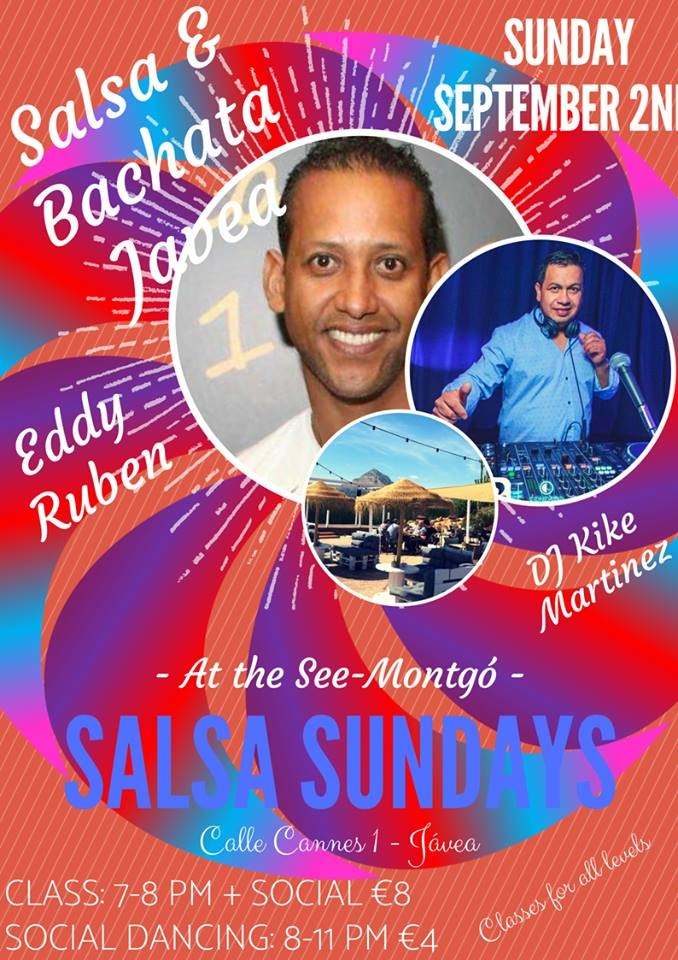 Dancing: Salsa Classes at SeeMontgó, Javea