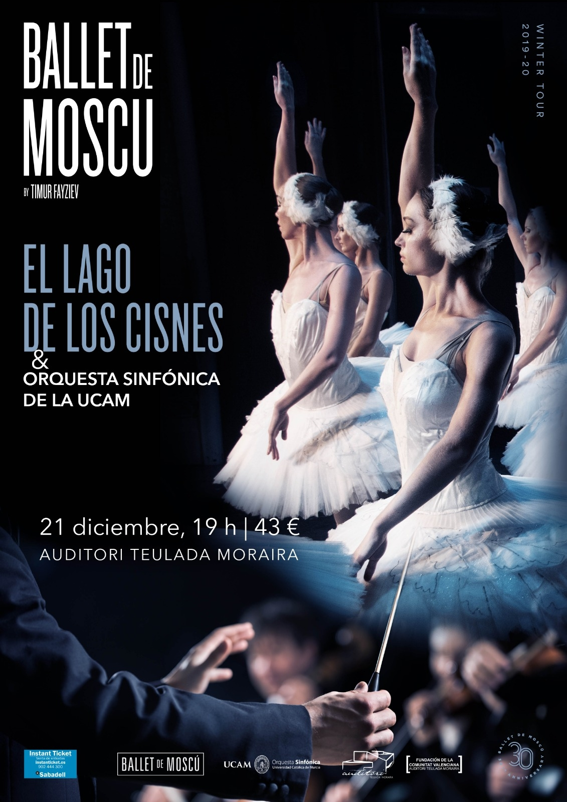 """""""Swan Lake"""" Performance in Teulada from Moscow Ballet"""