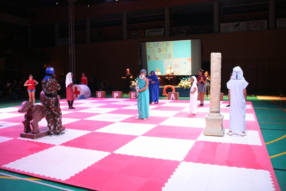 "Festivals in Javea: ""El Ajedrez Viviente"" - Living Chess (July 2019)"