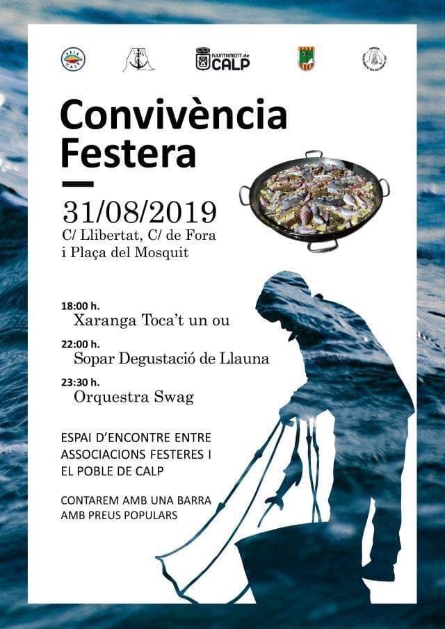"""Fiestas in Calpe: """"Convivencia Festera"""" (August 2020)"""