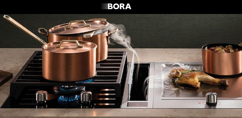 New BORA range of hob extractors now available on the Costa Blanca from Church Kitchens