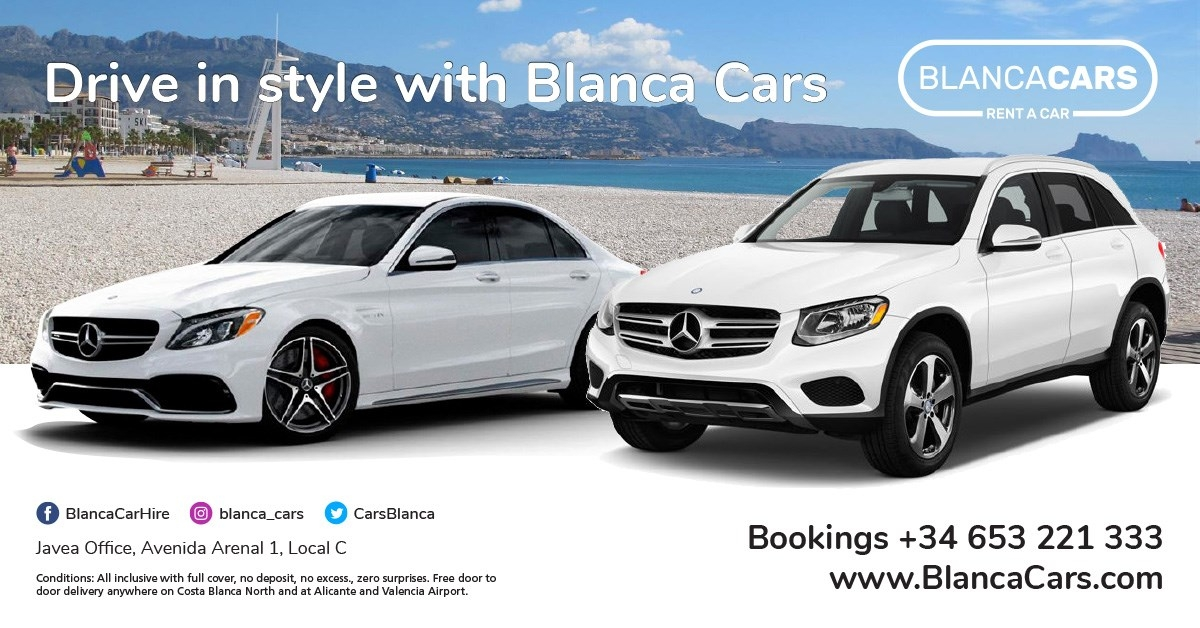 BlancaCars Rent a Car - Car Hire in Javea - Calpe - Moraira