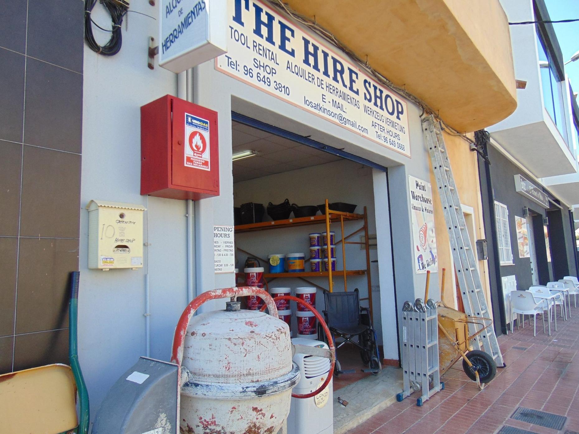 The Hire Shop Benitachell - Tool Hire & Baby Equipment Rental