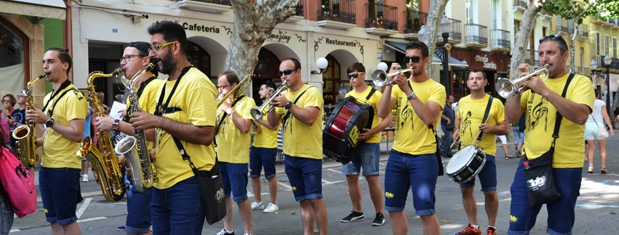 "Fiestas in Denia: ""Bous al Mar"" (July 2020)"