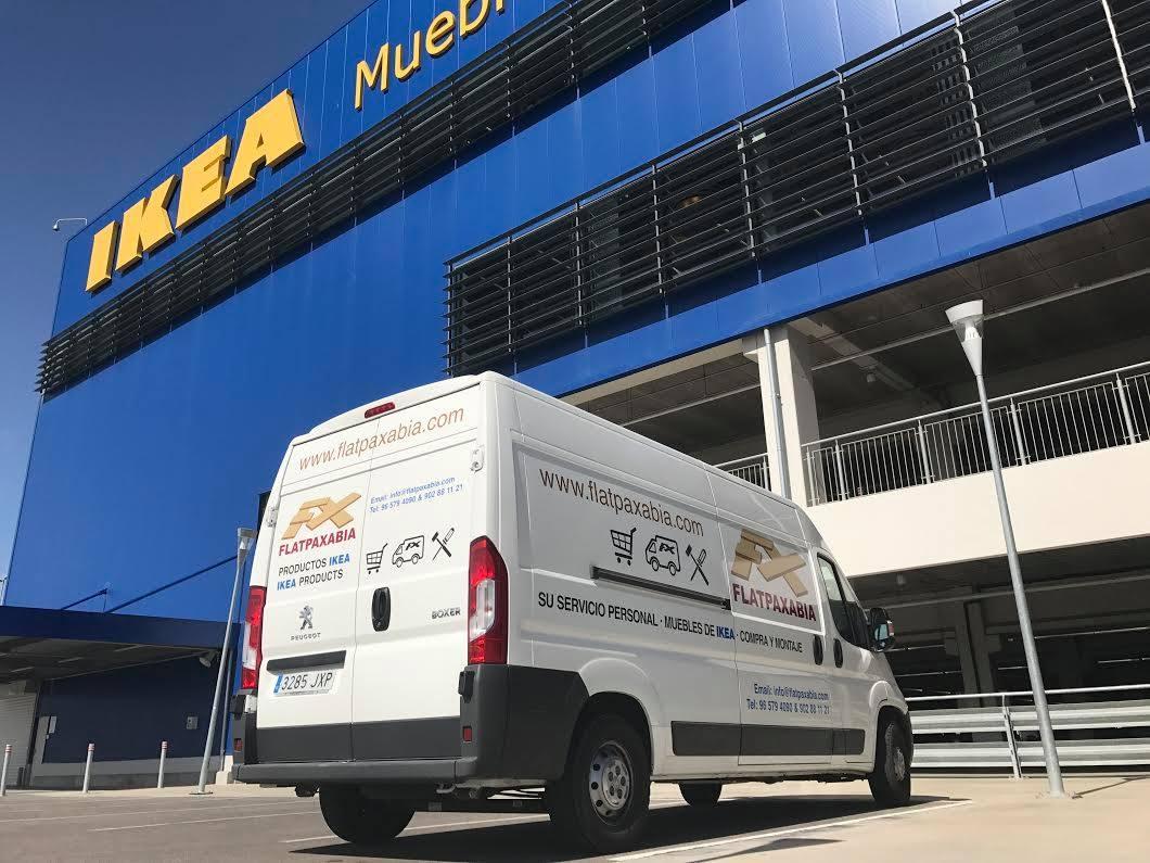 Flatpaxabia Ikea Delivery Costa Blanca Ikea Murcia Valencia  # Muebles Peugeot Boxer