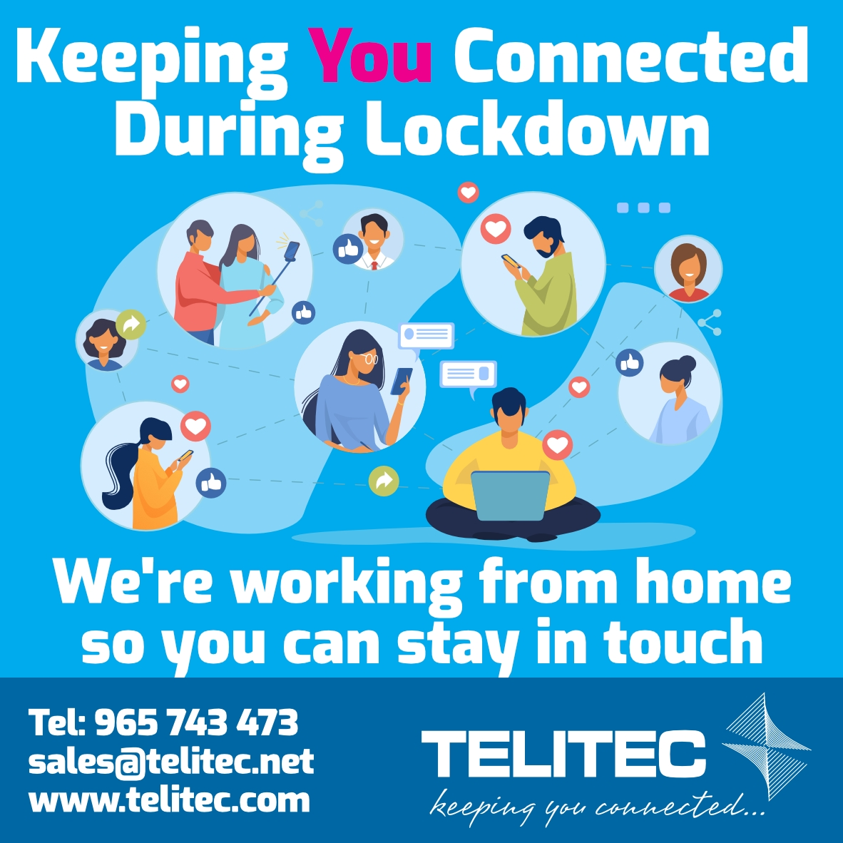 Telitec Communications: Keeping You Together While Apart