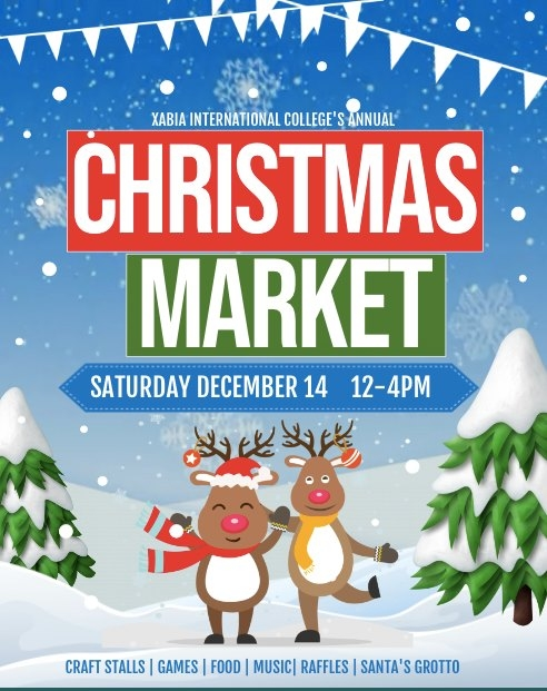 Christmas Market at Xabia International College