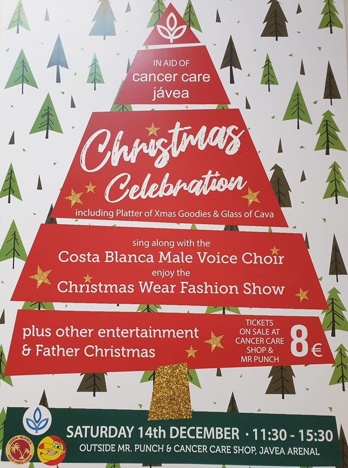 Charity Events: Christmas Celebration in aid of Cancer Care Javea