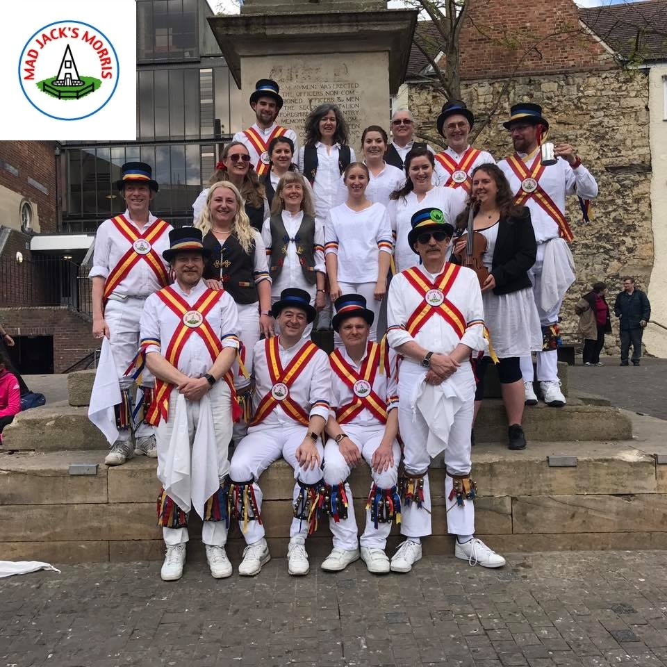 Mad Jacks Morris will be performing at various locations around the Old Town 