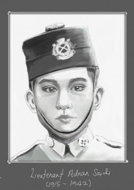 Lieutenant Adnan Saidi